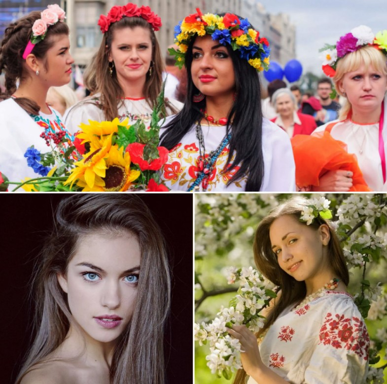 Various hot Ukrainian girls